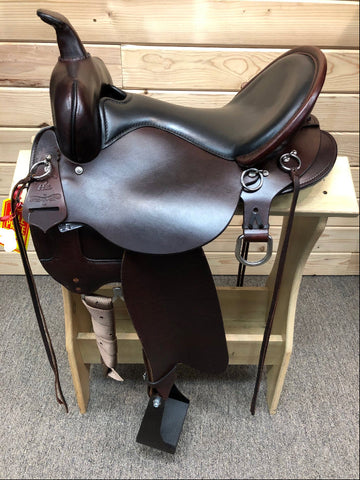 High Horse Little River Trail Saddle by Circle Y- 16""