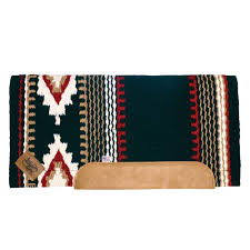 Impact Gel Woven Western Saddle Pad Cowtown