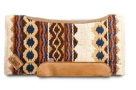 Impact Gel Woven Western Saddle Pad Riverland