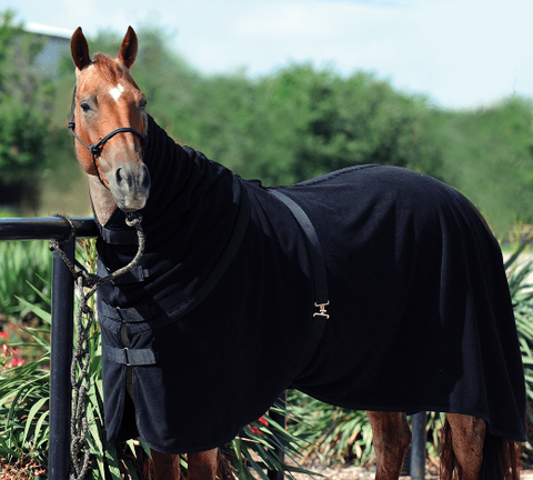 Classic Equine Polar Fleece Combo Cooler