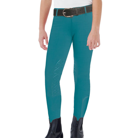 Ovation Kids Aerowick Knee Patch Riding Tights
