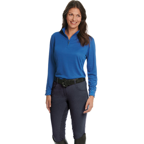 Ovation Ladies SoftFLEX Grip-Tec Full Seat Breech