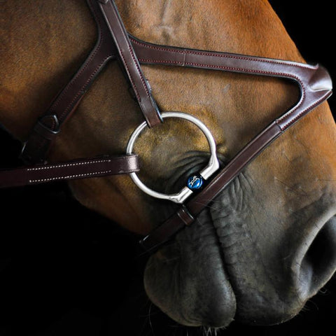 Fager® Bianca Titanium Fixed Ring Snaffle