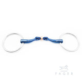 Fager® Sally Titanium Loose Ring Snaffle