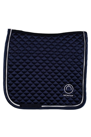 Montar Satin Saddle Pad Logo Dressage