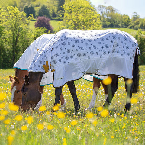 Shires Tempest Dandelion Standard Neck Fly Sheet