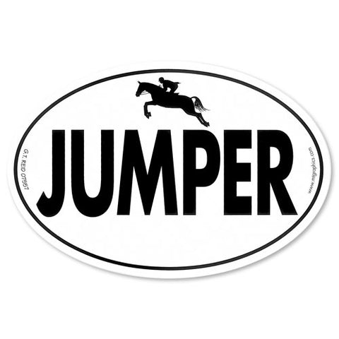 "GT. Reid ""Jumper"" Car Sticker"