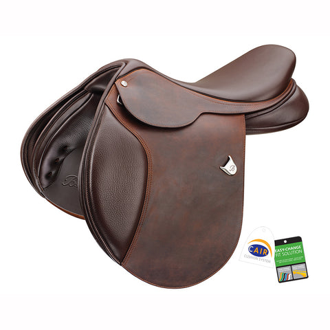 Bates Caprilli Close Contact (CAIR) with Heritage Leather Saddle