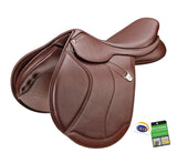 "Bates ""Caprilli+"" Close Contact Forward Flap Saddle"