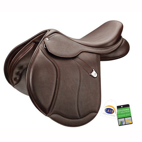 Bates Caprilli Close Contact+ in Luxe Leather (CAIR) Saddle