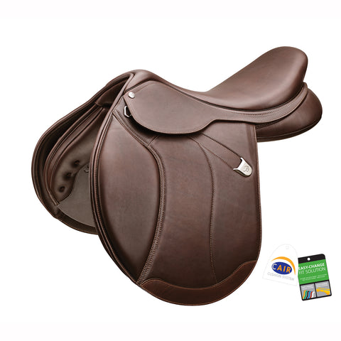 "Bates ""Caprilli+"" Close Contact Extended Flap Luxe Leather Saddle"