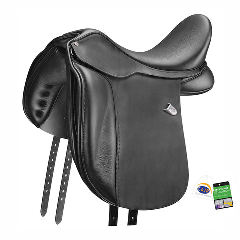 Bates WIDE Dressage (CAIR) with Heritage Leather Saddle