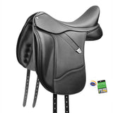Bates Dressage Saddle with Luxe Leather
