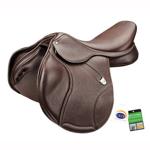 "Bates ""Elevation DS+"" Luxe Leather Jump Saddle"