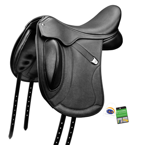 "Bates ""Innova+"" Monoflap Dressage Luxe Leather Saddle"