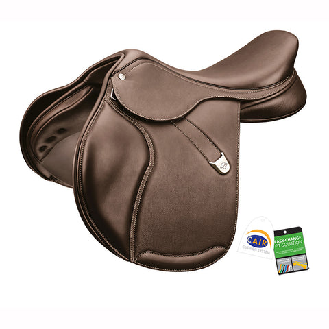 Bates Pony Elevation Jump Saddle in Luxe Leather