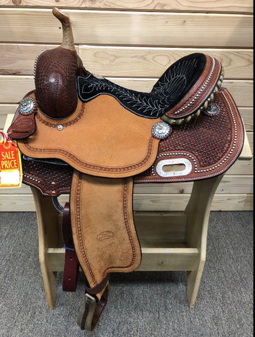 Billy Cook Barrel Saddle- 14""