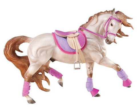 Breyer®  English Riding Set Hot Colors