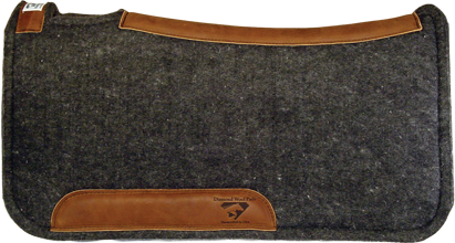 "Diamond Wool 1"" Contoured Tough Saddle Pad"