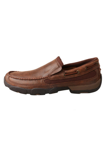 Twisted X Mens Slip On Driving Moc