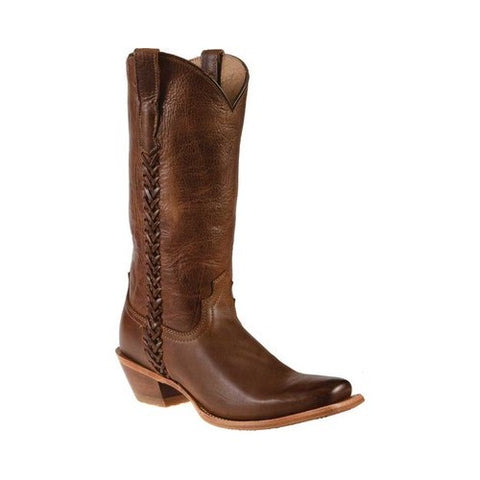 Twisted X Ladies Ruff Stock Laced Edge Boot