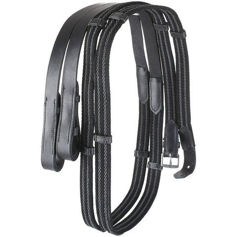 Camelot Rubberized Web Reins