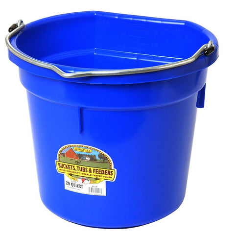 Miller 20 QT Flat Back Bucket