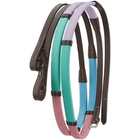 Camelot Ice Colors Rubber Grip Reins