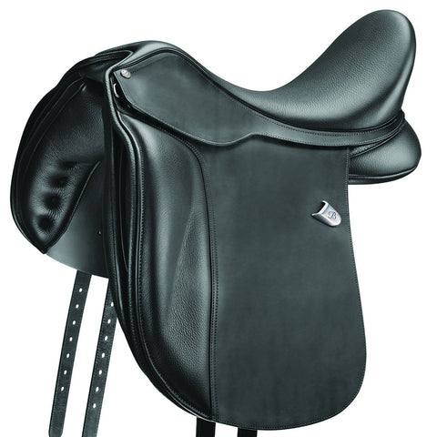 "Bates ""Wide"" Dressage Saddle"