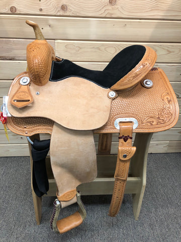 SRS Barrel Saddle- 14.5""