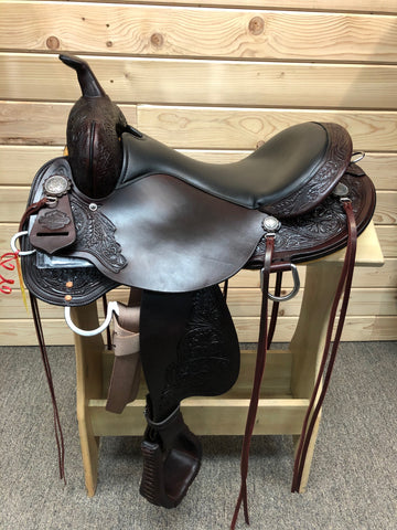 High Horse Mesquite Trail Saddle by Circle Y- 16""