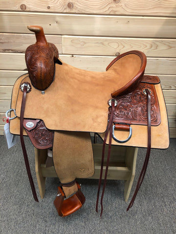 Circle Y Stockman Flex II Trail Saddle- 16""