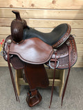 Circle Y Reno Flex II Trail Saddle- 16""