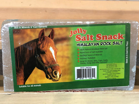 Jolly Salt Snack Himalayan Rock Salt Brick