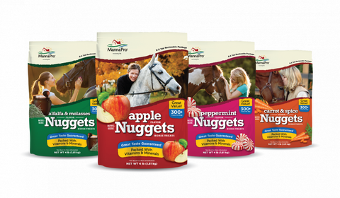Manna Pro Nuggets Horse Treats 1lb