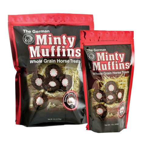German Minty Muffins Horse Treats