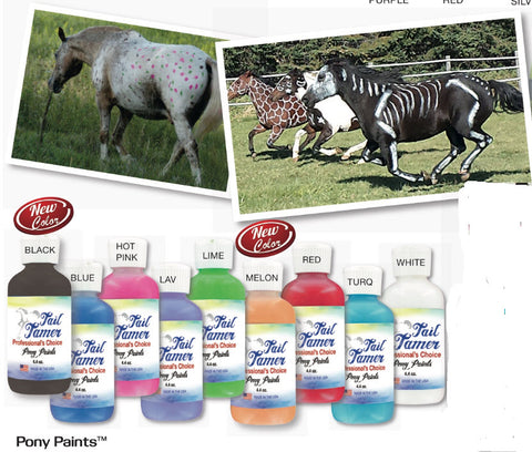 Professionals Choice Tail Tamer Pony Paints