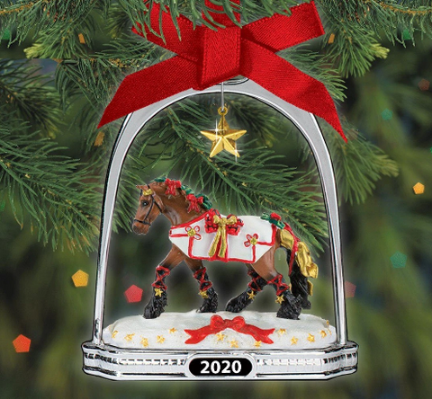 Breyer Yuletide Greetings Holiday Horse Stirrup Ornament 2020