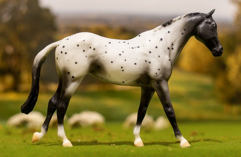 Breyer® Classic Black Semi - Leopard Appaloosa