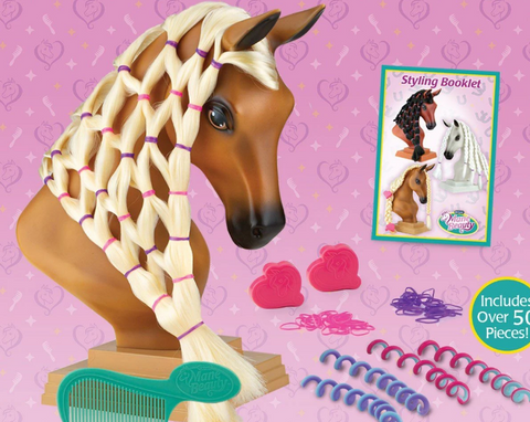 Breyer Mane Beauty Styling Head