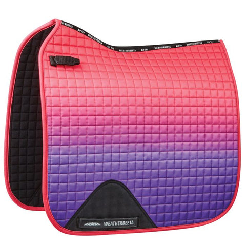 Weatherbeeta Prime Ombre Dressage Saddle Pad- 2020 Colors
