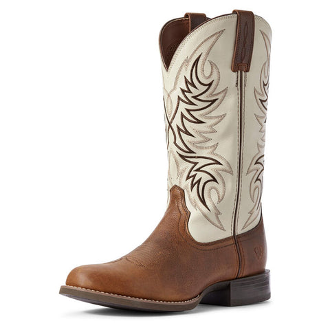 Ariat Mens Sport Horseman Round Toe Boot