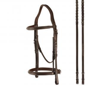 Bobby's Padded Raised Snaffle Bridle