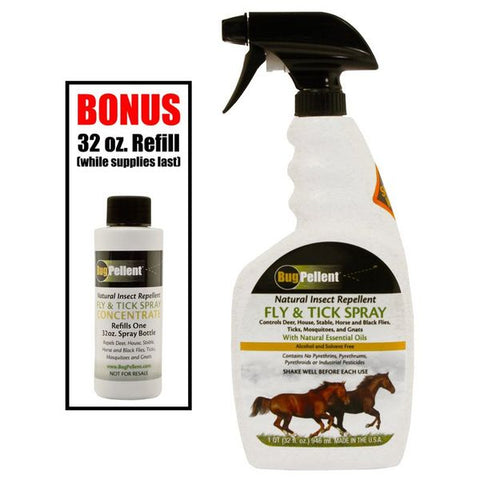 BugPellent Fly and Tick Spray