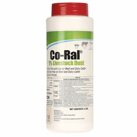 Co-Ral Livestock Dust 1%