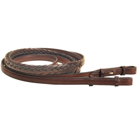 Tory Leather Braided Leather English Reins