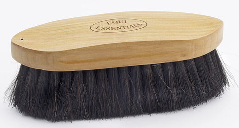 Equi-Essentials Wood Back Horse Hair Brush