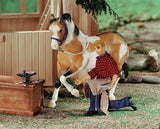 "BREYER® FARRIER WITH BLACKSMITH TOOLS - 8"" FIGURE"