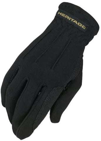 Heritage Power Grip Nylon Gloves-Adult
