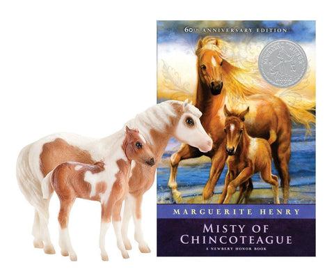Breyer® Misty and Stormy with book set